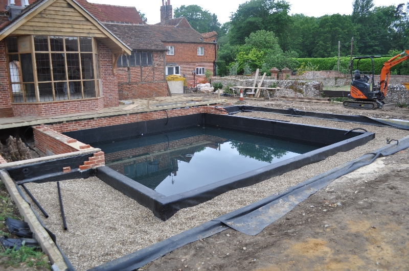 Natural swimming pools aquatic consultant cornwall pond consultant aquatic weed control Natural swimming pool builders